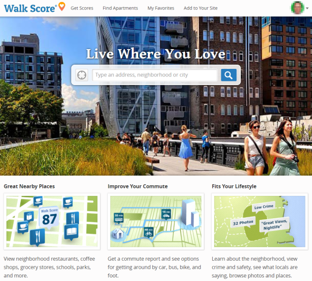 Get Your Walk Score