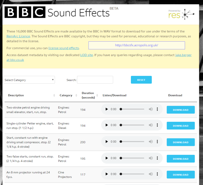 BBC Sound Effects - Research & Education Space.png