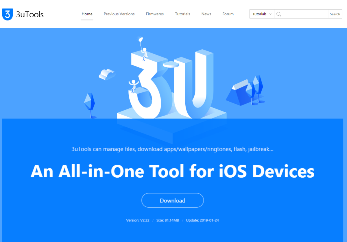 3uTools – manage an iPhone the 'easy way' – Jonathan's Notes and