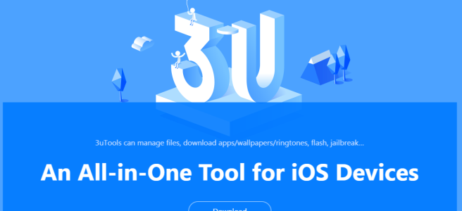 3u Tools - Manage the iPhone and ios devices